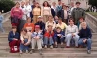 Lublin - na schodach przed Zamkiem 2004